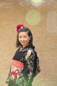 こちらは、従姉妹の娘さん。普段はアメリカに住んでいますが、正月に日本に来た時に撮影しました。